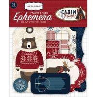 Cabin Fever Ephemera Cardstock Die-Cuts 33/Pkg NOTM074845