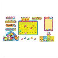 TREND Owl-Stars! Calendar Bulletin Board Set, 17 1/2 x 23 1/4, 100 Pieces TEPT8363