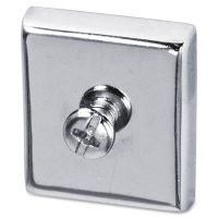 Lorell Large Heavy-duty Cubicle Magnets LLR80675