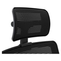 HON Adjustable Headrest for Endorse Series Mesh Mid-Back Work Chairs, Black HONLMSHHRIM