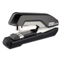 Rapid Supreme S50 SuperFlatClinch Half Strip Stapler, 50-Sheet Capacity, Black/Gray RPD5000598