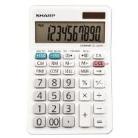 Sharp EL-330WB Desktop Calculator, 10-Digit LCD SHREL330WB