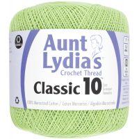 Aunt Lydia's Classic 10 Crochet Thread - Wasabi NOTM293741