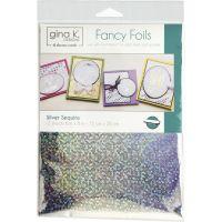 """Gina K Designs Fancy Foil 6""""X8"""" 12/Pkg NOTM381638"""