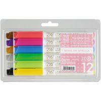 Zig Memory System Wink Of Stella Glitter Markers 12/Pkg NOTM470480
