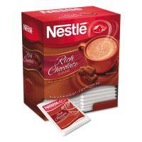 Nestlé Hot Cocoa Mix, Rich Chocolate, 0.71 oz Packets, 50/Box, 6 Box/Carton NES25485CT