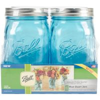 Ball (R) Wide Mouth Canning Jars 4/pkg NOTM300572