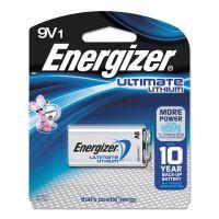 Energizer Ultimate Lithium Batteries, 9V EVEL522BP