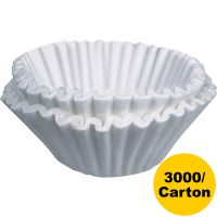 BUNN Flat Bottom Coffee Filters, Paper, 12-Cup Size BUNBCF250CT