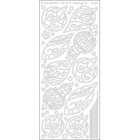 Christmas Ornaments Peel-Off Stickers NOTM124383