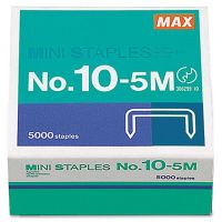 MAX No.10-5M Mini Staples MXB105M