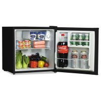 Alera 1.6 Cu. Ft. Refrigerator with Chiller Compartment, Black ALERF616B