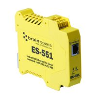 Brainboxes ES-551 Ethernet To Serial Device Server SYNX3410316