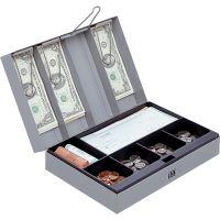 Sparco Steel Combination Lock Steel Cash Box SPR15508