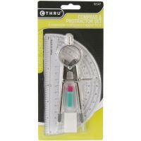 "Compass & Protractor Set 6"" NOTM134805"