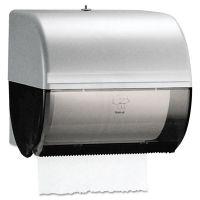 Kimberly-Clark Professional* Omni Roll Towel Dispenser, 10 1/2 x 10 x 10, Smoke/Gray KCC09746