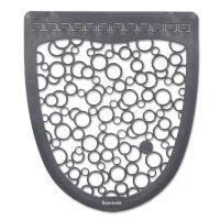 Boardwalk Urinal Mat 2.0, Rubber, 17 1/2 x 20, Gray/White, 6/Carton BWKUMGW