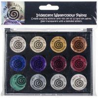 Cosmic Shimmer Iridescent Watercolor Palette Set 7 NOTM033654