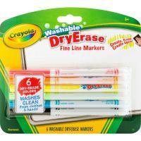 Crayola Washable Dry Erase Fine Line Markers CYO985906
