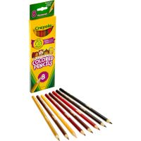 Crayola Multicultural Woodcase Colored Pencils CYO684208