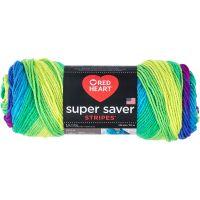 Red Heart Super Saver Yarn - Parrot Stripe NOTM063897