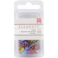 """Elements Brads .1875"""" 50/Pkg NOTM275376"""