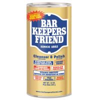 Bar Keepers Friend Powdered Cleanser and Polish, 12 oz Can, 12/Carton BKF11510