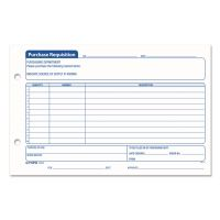 TOPS Purchasing Requisition Pad, 5 1/2 x 8 1/2, 100/Pad, 2/Pack TOP32431