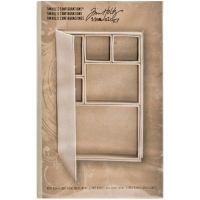 Idea-Ology Configurations Mini Chipboard Shadow Box Book NOTM321242