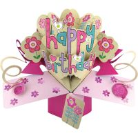 Pop-Up 3D Greeting Card 1/Pkg NOTM378364