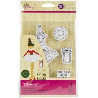 Julie Nutting Mixed Media Cling Rubber Stamps NOTM264155