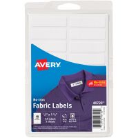 No-Iron Handwrite Fabric Labels 3 Sheets NOTM436304