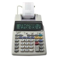 Sharp EL-1750V Two-Color Printing Calculator, Black/Red Print, 2 Lines/Sec SHREL1750V