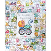 Baby ABC Counted Cross Stitch Kit NOTM079076