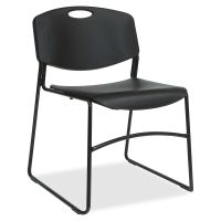 Lorell Big and Tall Stacking Chair LLR62528
