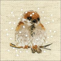 Sparrow Counted Cross Stitch Kit NOTM273937