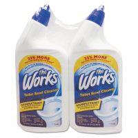 The Works Disinfectant Toilet Bowl Cleaner, 32 oz Bottle, 2/Pack KIK33302WK