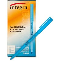 Integra Pen Style Highlighters ITA36184