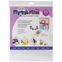 "Ink Jet Shrink Film 8.5""X11"" 6/Pkg NOTM348674"