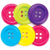 Favorite Findings Big Buttons 6/Pkg NOTM430226
