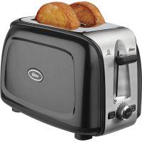Oster 2-Slice Toaster, Black Metallic OSRTSSTTRPMB2
