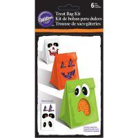 Halloween Treat Bags W/Stickers 6/Pkg NOTM398657