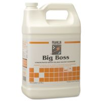 Franklin Cleaning Technology Big Boss Concentrated Degreaser, Sassafras Scent, 1gal Bottle, 4/Carton FKLF266022