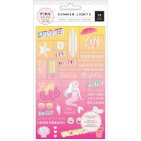 Summer Lights Acetate Stickers NOTM444222