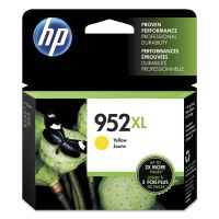 HP 952XL, (L0S67AN) High Yield Yellow Original Ink Cartridge HEWL0S67AN