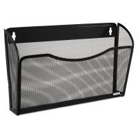 Rolodex Single Pocket Wire Mesh Wall File, Letter, Black ROL21931