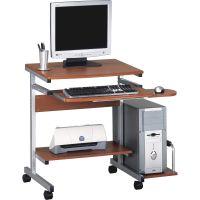 Tiffany Industries Portrait Mobile PC Workstation, 36-1/2w x 28-1/2d x 30h, Med Cherry Laminate Top MLN946MEC