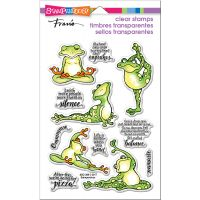 """Stampendous Perfectly Clear Stamps 7.25""""X4.625"""" NOTM215443"""