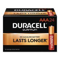 Duracell Quantum Alkaline Batteries, AAA, 24/BX DURQU2400BKD