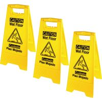 Genuine Joe Universal Graphic Wet Floor Sign GJO85117BD
